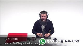 Matteo Dell'Acqua Lavorazioni Plastiche parte 5 con Rancilio Cube