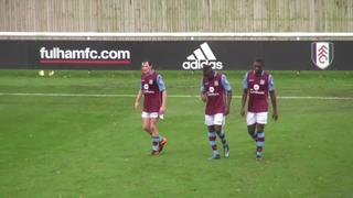 U21s highlights: Fulham 2-2 Villa