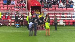 15-16 pre-season: Swindon Town v Villa 1st half