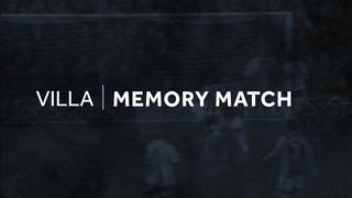 Memory match: Villa 1-0 Stoke