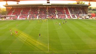 15-16 pre-season: Swindon Town v Villa 2nd half