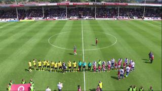 15-16 pre-season: Walsall v Villa 1st half