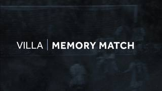 Memory match: Walsall 0-5 Villa